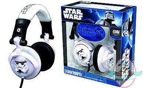 Star Wars Funko Tronics Stormtrooper DJ Headphones