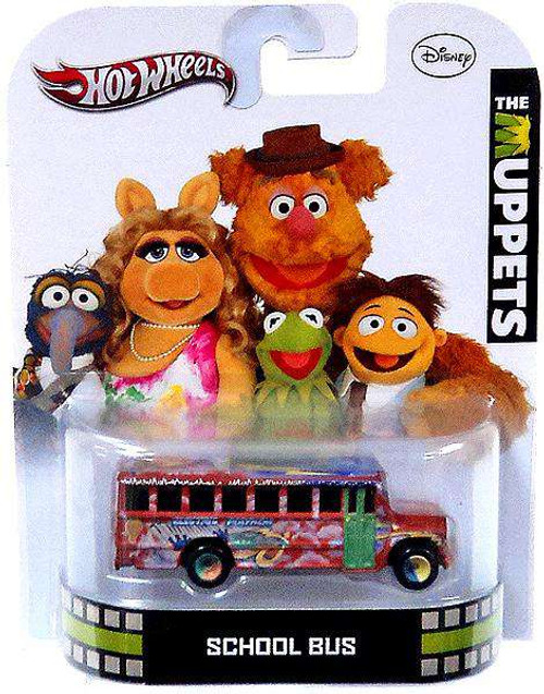 Hot Wheels The Muppets HW Retro Entertainment School Bus Die-Cast Car