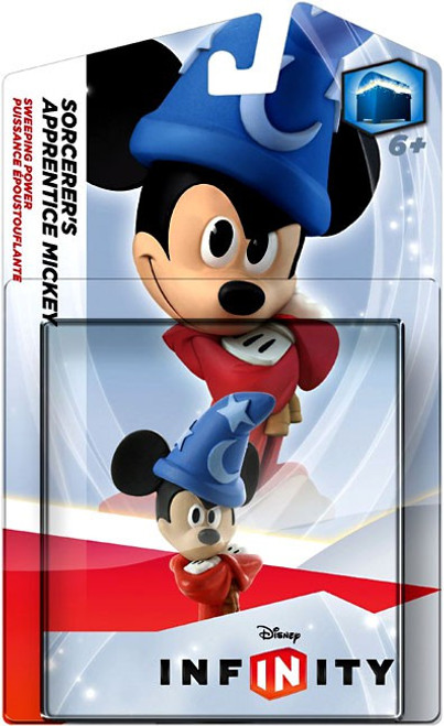 Mickey Mouse Disney Infinity Sorcerer's Apprentice Mickey Game Figure [Sweeping Power]