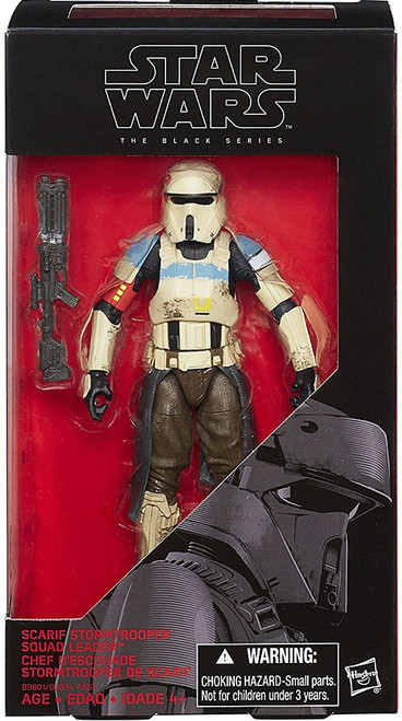 Star Wars Rogue One Black Series Scarif Stormtrooper Squad Leader Action Figure