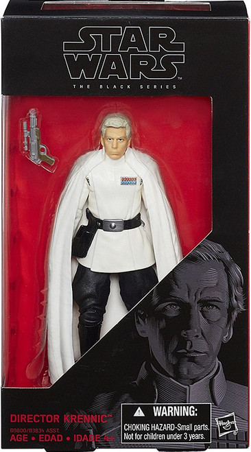 Star Wars Rogue One Black Series Director Krennic Action Figure