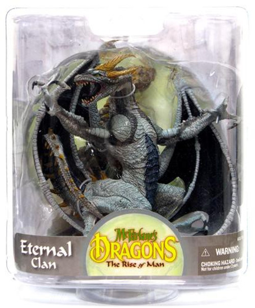 McFarlane Toys Dragons The Rise of Man Series 7 Eternal Dragon Action Figure [Damaged Package]
