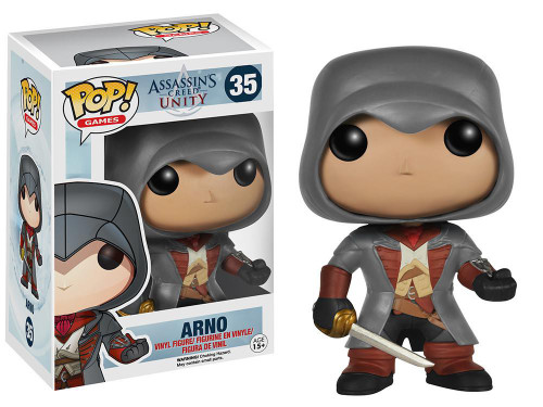 Funko Assassin's Creed Unity POP! Games Arno Vinyl Figure #35 [Damaged Package]