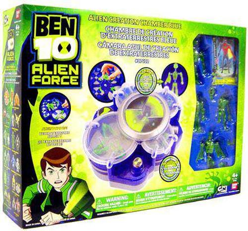 Ben 10 Alien Force Alien Creation Chamber Playset [Blue, Damaged Package]