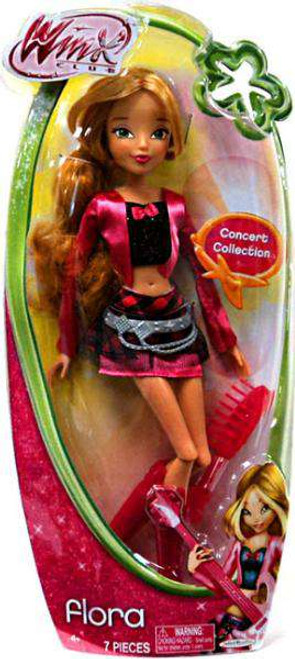 Winx Club Flora 11.5-Inch Doll [Concert, Damaged Package]