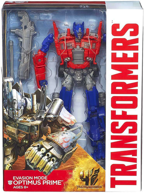 Transformers Age of Extinction Generations Evasion Mode Optimus Prime Voyager Action Figure [Damaged Package]