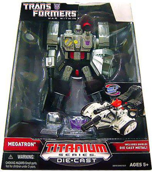 "Transformers War Within TItanium Series Megatron 6-Inch 6"" Diecast Figure [Damaged Package]"