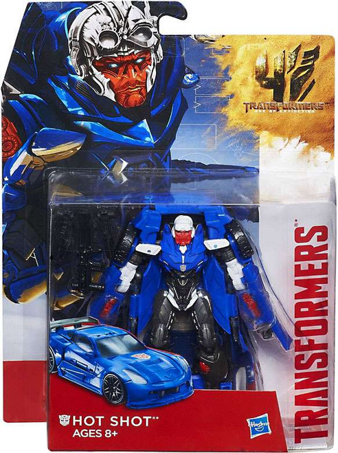 Transformers Age of Extinction Generations Hot Shot Deluxe Action Figure [Damaged Package]