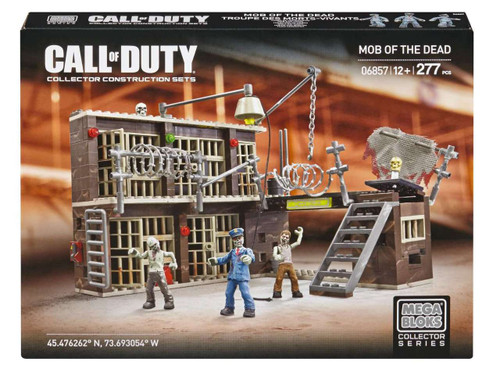 Mega Bloks Call of Duty Mob of the Dead Set #06857 [Damaged Package]