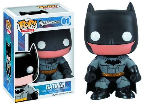 Funko DC Universe POP! Heroes Batman Exclusive Vinyl Figure #01 [New 52 Version, Damaged Package]