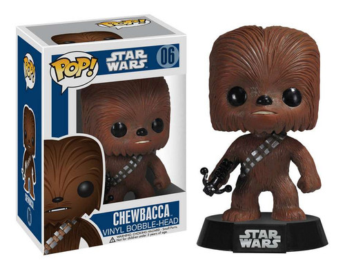 Funko POP! Star Wars Chewbacca Vinyl Bobble Head #06 [Damaged Package]
