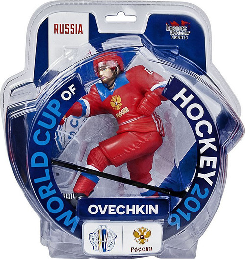 NHL Russia World Cup of Hockey 2016 Alex Ovechkin Action Figure