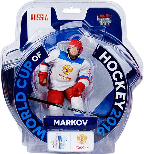 NHL Russia World Cup of Hockey 2016 Andrei Markov Action Figure