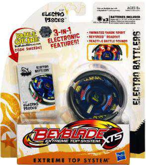 Beyblade XTS Electro Battlers Electro Pisces Single Pack X-57 [Damaged Package]
