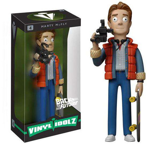 Funko Back to the Future Vinyl Idolz Marty McFly 8-Inch Vinyl Figure #4 [Damaged Package]