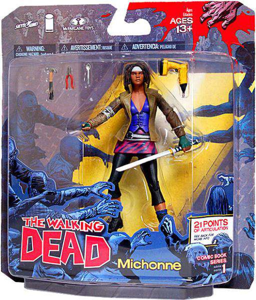 McFarlane Toys The Walking Dead Comic Michonne Action Figure [Damaged Package]