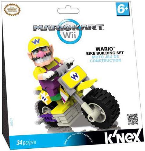 K'NEX Super Mario Mario Kart Wii Wario Bike Set #38307 [Loose]