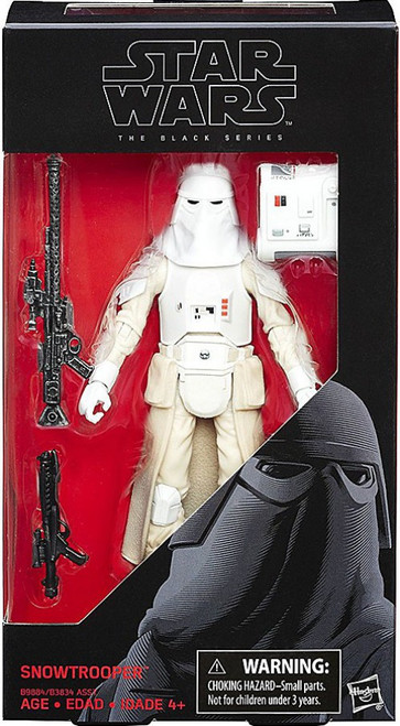Star Wars The Empire Strikes Back Black Series Snowtrooper Action Figure