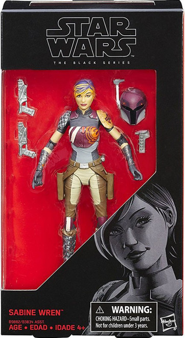 Star Wars Rebels Black Series Sabine Wren Action Figure