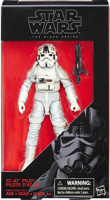 Star Wars The Empire Strikes Back Black Series AT-AT Driver Action Figure