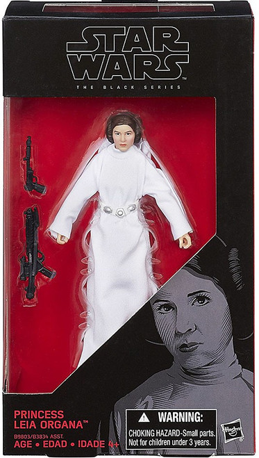 Star Wars A New Hope Black Series Princess Leia Organa Action Figure
