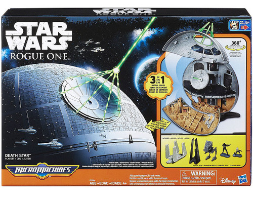 Star Wars Rogue One Micro Machines Death Star Playset