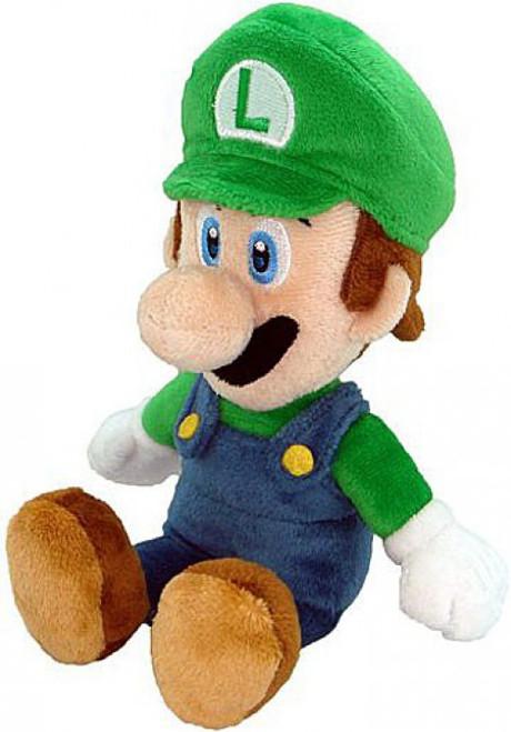 Super Mario Luigi 8-Inch Plush