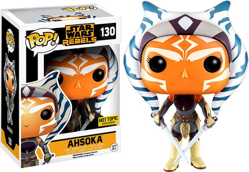 Funko Rebels POP! Star Wars Ahsoka Exclusive Vinyl Bobble Head #130