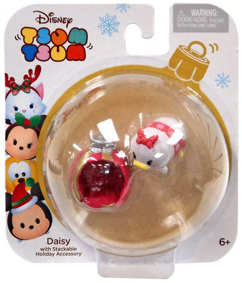 Disney Tsum Tsum Holiday Series Daisy 1-Inch Minifigure Pack