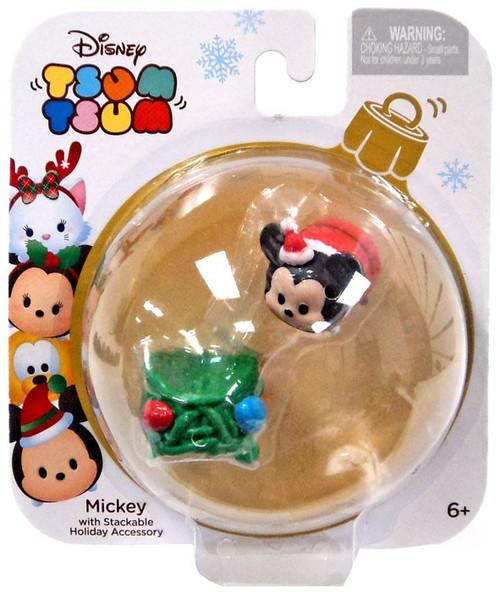 Disney Tsum Tsum Holiday Series Mickey 1-Inch Minifigure Pack