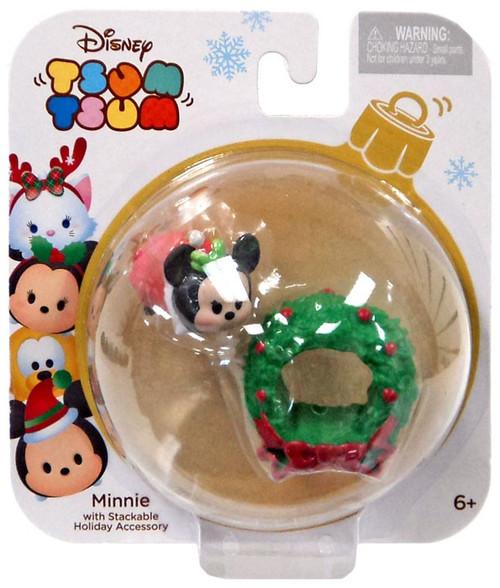 Disney Tsum Tsum Holiday Series Minnie 1-Inch Minifigure Pack
