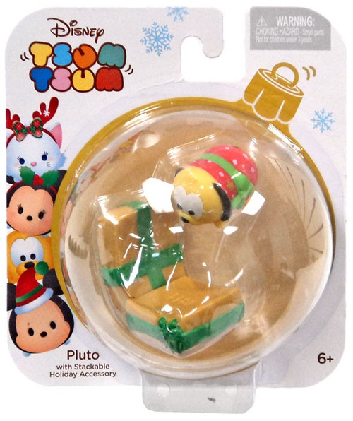 Disney Tsum Tsum Holiday Series Pluto 1-Inch Minifigure Pack