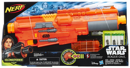 Star Wars Rogue One NERF Sergeant Jyn Erso Deluxe Blaster Roleplay Toy