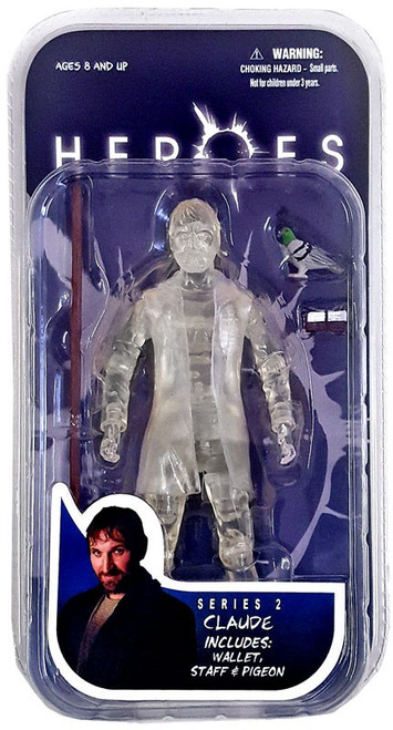 Heroes Series 2 Claude Action Figure [Clear Variant]