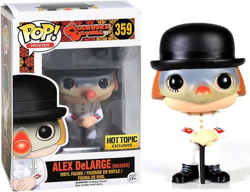 Funko A Clockwork Orange POP! Movies Alex DeLarge Exclusive Vinyl Figure #359 [Masked]