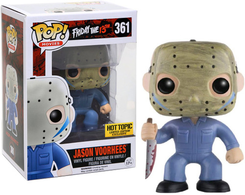 Funko Friday the 13th POP! Movies Jason Voorhees Exclusive Vinyl Figure #361 [Blue Jumpsuit]