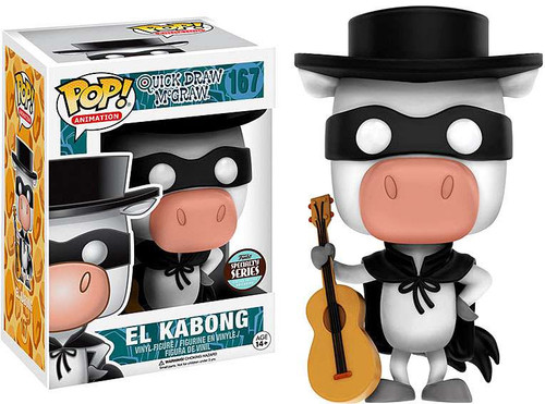 Funko Quick Draw McGraw POP! Animation El Kabong Exclusive Vinyl Figure #167 [Specialty Series]