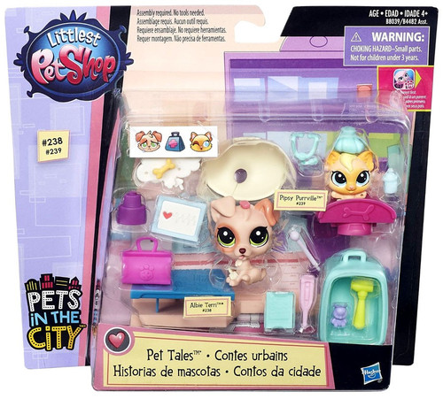 Littlest Pet Shop Pets in the City Vet Clinic Playset [Pet Tales]