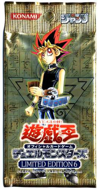 YuGiOh Trading Card Game Limited Edition 6 Booster Pack [Japanese]