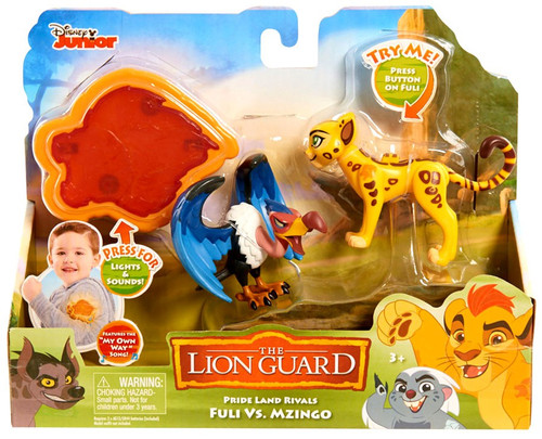 Disney The Lion Guard Pride Land Rivals Fuli vs Mzingo Figure Pack