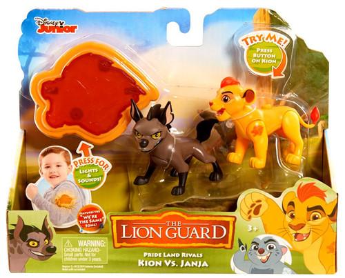 Disney The Lion Guard Pride Land Rivals Kion vs. Janja Figure Pack