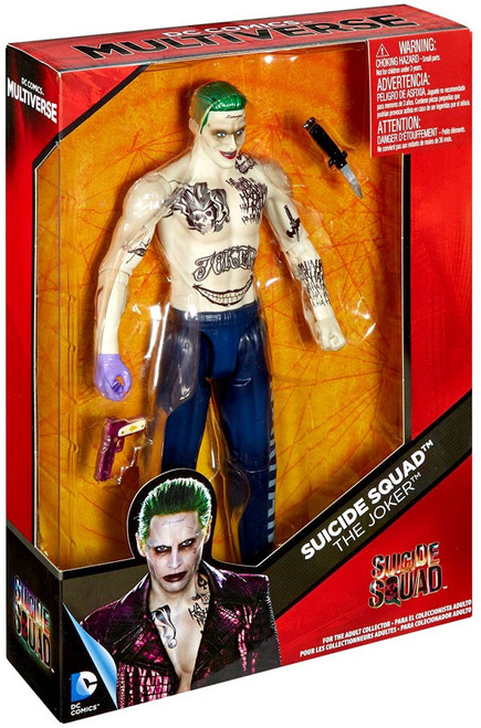 DC Suicide Squad Multiverse The Joker Deluxe Action Figure