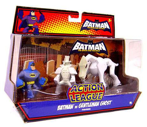 The Brave and the Bold Action League Batman vs. Gentlemen Ghost Mini Figure Set