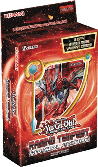YuGiOh Trading Card Game Raging Tempest Special Edition [3 Booster Packs & 1 Random Promo Card!]