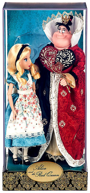 Alice in Wonderland Disney Fairytale Designer Collection Alice and the Red Queen Exclusive Doll Set