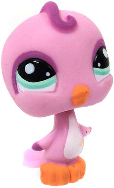 Littlest Pet Shop Pink Birdie Figure [No Package]