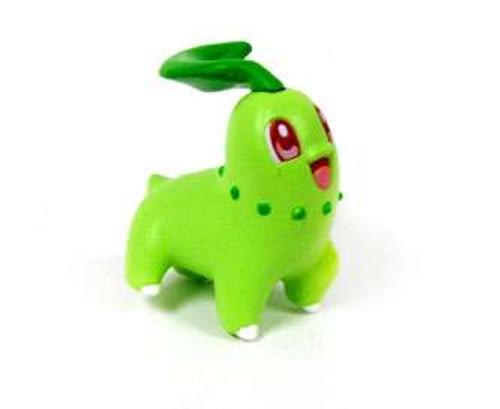 Pokemon Pikachu the Movie Chikorita Micro Clipping Figure