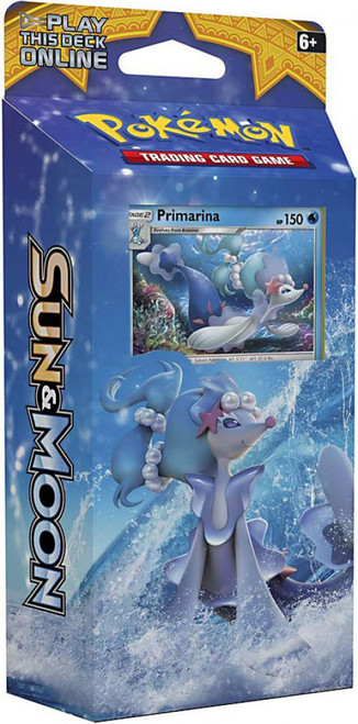 Pokemon Trading Card Game Sun & Moon Bright Tide Theme Deck [Primarina]