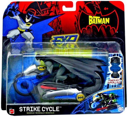 The Batman EXP Extreme Power Strike Cycle Vehicle