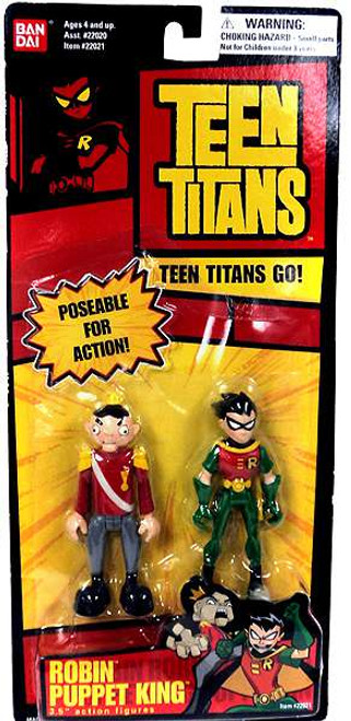 Teen Titans Go! Robin & Puppet King Action Figure 2-Pack